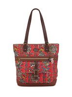 Sakroots Medium Shopper (Cherry Spirit Desert)