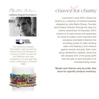 Matthew Shephard Foundation Bracelet