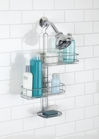 Adjustable Shower Caddy, Silver