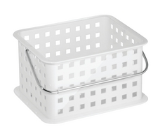 Small Spa Basket, White