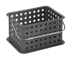 Small Spa Basket, Slate