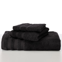 Martex Egyptian Cotton with Dryfast Black Bath Towel