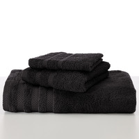 Martex Hand Towel, 16 x 28, Black