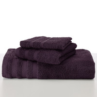Martex Wash Cloth, 13 x 13, Purple