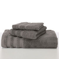 Martex Wash Cloth, 13 x 13, Grey