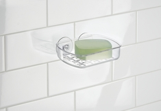 Suction Soap Holder, Clear