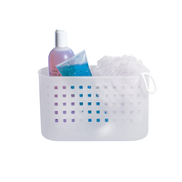 Suction Shower Basket, Clear