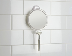 Power Lock Suction Fog Free Mirror, Clear