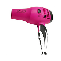 R Pink Retractable Cord Dryer