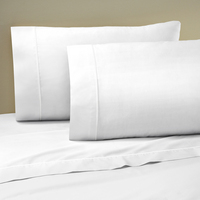 Martex Twin Extra Long (TXL) Sheet Set, White