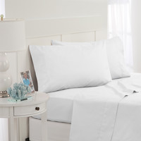 Southern Tide Skipjack Tonal Embroidered Twill Twin Sheet Set, White