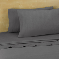 Twin, Twin Extra Long Jersey Sheets, Grey