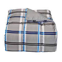 Gibson Plaid College Classic Twin XL   Comforter