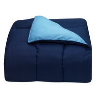 Light Blue and Navy College Classic Twin XL Comforter