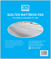 Quilted Mattress Pad, Twin XL