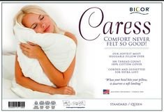 Bicor Caress Down Alt Pillow