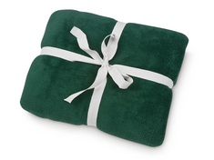 Cozy Fleece Blanket, Green