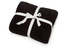 Cozy Fleece Blanket, Black