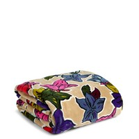 Vera Bradley Throw Blanket Falling Flowers