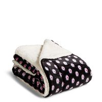 Vera Bradley Cozy Life Throw Blanket Berry Medallion