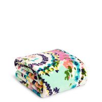 Vera Bradley Throw Blanket Wildflower Paisley