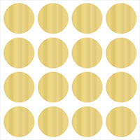 WallPops Confetti Dot Decals, Gold