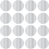 WallPops Confetti Dot Decals, Silver