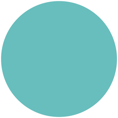 WallPops Calypso Dry Erase Dot Decal, Turquoise