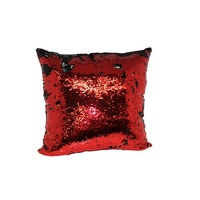 Mermaid Pillow RedBlack