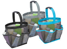 Mesh Bath Tote, Assorted Colors