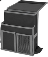 Mini Bedside Caddy, Black