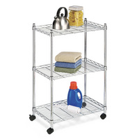 Supreme 3 Tier Cart, Chrome
