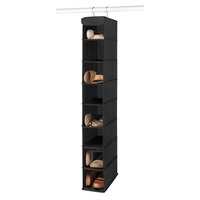Hanging Shoe Shelves, Black