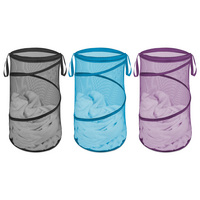 Collapsible Hamper, Assorted Colors