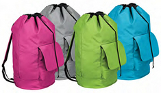 Laundry Backpack, Assorted Colors