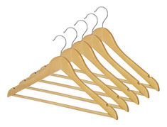 SUIT HANGERS, SET OF 5