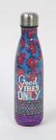Natural Life Water Bottle Good Vibes Only