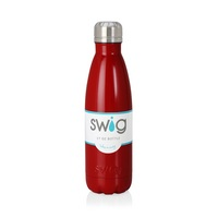 Swig 17oz Bottle, Crimson
