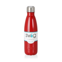 Swig 17oz Bottle, Red