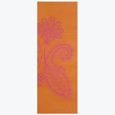 Gaiam Printed Yoga Mat, Paisley Flower