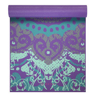 Fit For Life GAIAM YOGA MAT 4MM MOROCCAN GARDEN