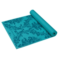 Gaiam Yoga Mat, Neo Baroque (Blues)