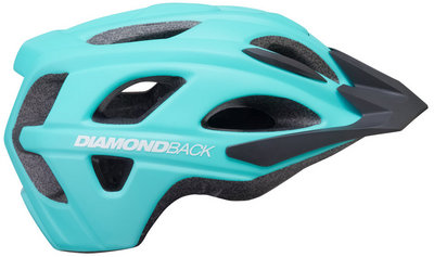 Diamonback Trace Adult Bike Helmet, Light Blue. Large, XL