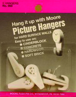 Moore Hardwall Picture Hangers