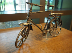 Bicycle Recycled Art
