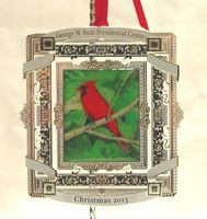 2013 Bush Center Ornament