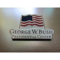 George W. Bush Presidential Center Hat Pin