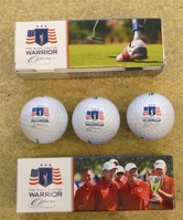 Warrior Open Golf Ball set