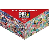 Puzzle Presidential Campaigns and Stamps
