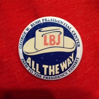 Path to the Presidency LBJ Button